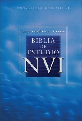 B ESTUDIO NVI TD CELESTE (Tapa Dura) [Biblia]