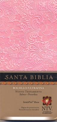 Nuevo Testamento Bolsillo Ultrafina piel Rosa [Biblia]