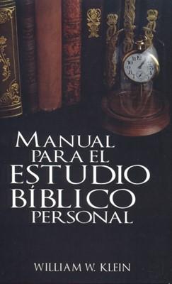 MANUAL PARA EL ESTUDIO BIBLICO PERSONAL [Libro]