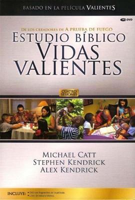 Estudio Bíblico Vidas Valientes (DVD de fragmentos + libro) [Recursos para Iglesia]