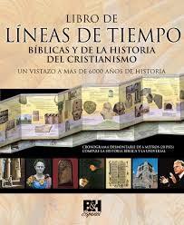 LINEAS DE TIEMPO BIBLICAS Y DE LA HISTORIA DEL CRISTIANISMO (tapa dura) [Libro]