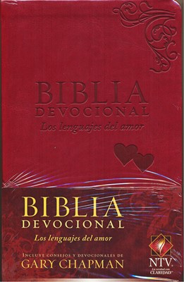 BIB.NTV DEV LENGUAJES DEL AMOR DUOTONO ROJO (Imitación Piel) [Biblia]