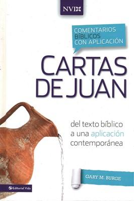 COMENTARIO NVI CARTAS DE JUAN (Tapa Dura) [Libro]