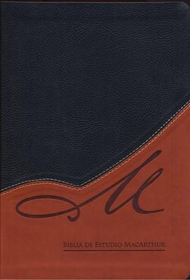 Biblia de Estudio Macarthur (Imitación Piel) [Biblia]