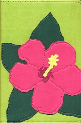 Biblia Ultrafina Compacta Flor Hibisco NVI (Imitación Piel) [Biblia]