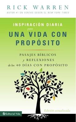 INSPIRACION UNA VIDA CON PROPOSITO BOLSILLO (Rústica) [libro de bolsillo]