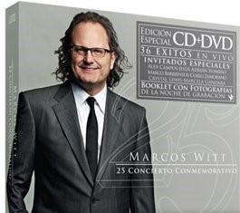 25 CONCIERTO CONMEMORATIVO CD+DVD  MARCOS WITT