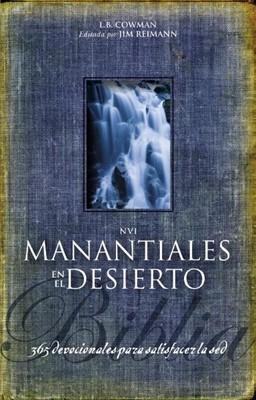 Biblia Manantiales en el Desierto NVI (Tapa dura ) [Biblia]