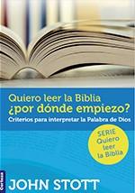 Quiero leer la Biblia