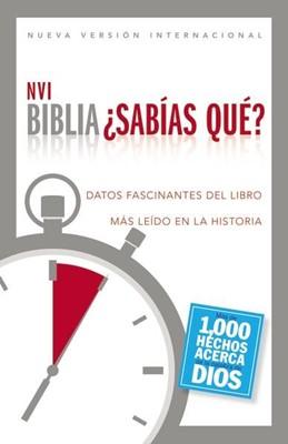 B NVI SABIAS QUE TD (Tapa dura) [Biblia]