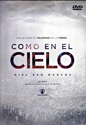 COMO EN EL CIELO MIEL SAN MARCOS DVD