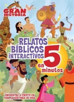 La Gran Historia, Relatos Bíblicos en 5 minutos (tapa acolchada)
