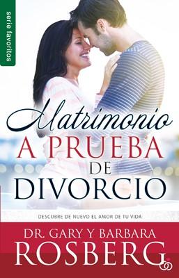 MATRIMONIO A PRUEBA DE DIVORCIO BOLSILLO (rústica) [libro de bolsillo]