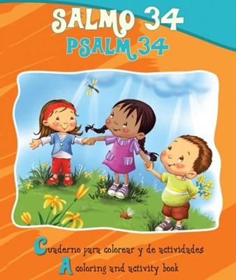 SALMO 34 PARA COLOREAR BILINGUE [Libro]