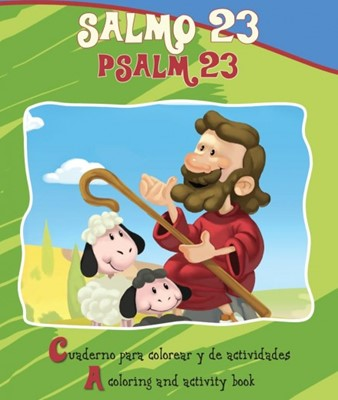 SALMO 23 PARA COLOREAR BILINGUE