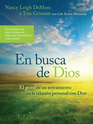 En Busca De Dios (rústica) [Libro]