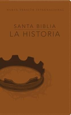 Biblia La Historia NVI (Piel Italiana) [Biblia]
