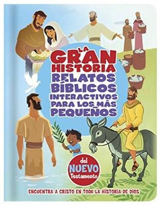 GRAN HISTORIA NT DE RELATOS BIBLICOS INTERACTIVA (tapa Dura)