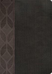 B RVR 1960 COMPACTA LG GEOMETRICO GRIS PIEL (simil piel) [Biblia]