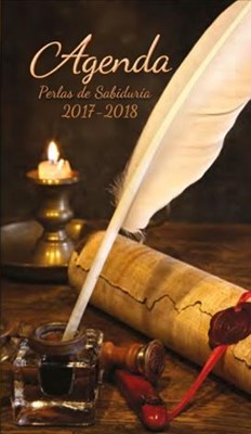 Agenda 2017 manual pluma (rústica) [Agenda]