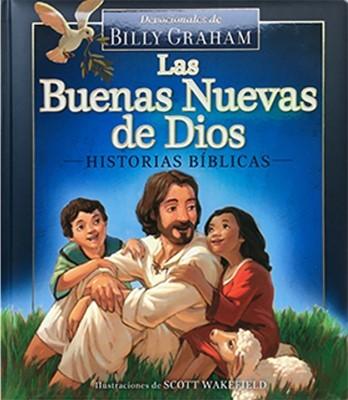 BUENAS NUEVAS DE DIOS HISTORIAS Y DEVOCIONALES (tapa acolchada) [Libro]
