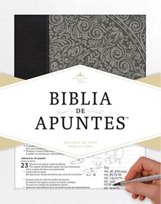 Biblia de Apuntes - Gris (imitación piel) [Biblia]