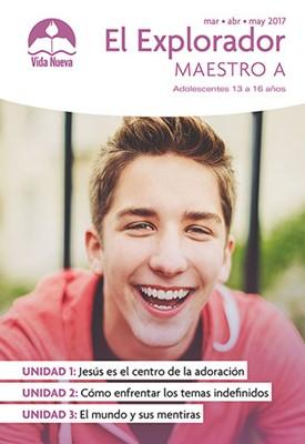 ED EXPLORADOR ADOLESCENTE MAESTRO TOMO II (Rústica) [Escuela Dominical]