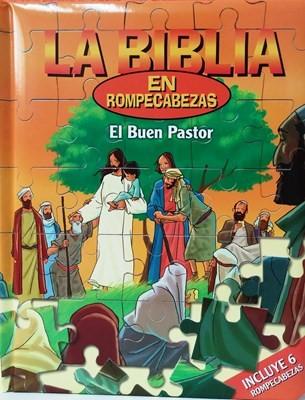 BIBLIA ROMPECABEZAS EL BUEN PASTOR (Tapa acolchada) [Libro]