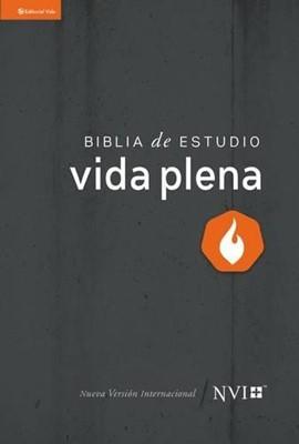 Biblia De Estudio Vida Plena NVI tapa dura (Tapa Dura) [Biblia]