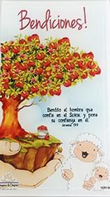 Cuadro de Vidrio decorativo Ovejitas & Ovejitas