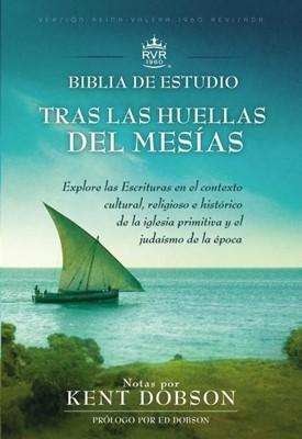 Biblia de estudio RVR60 Tras las huellas del Mesías (Tapa Dura) [Biblia]