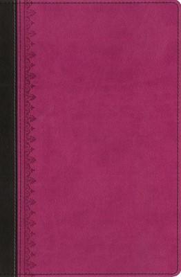 Bib.Tras las huellas del Mesías Dos Tonos Rosa/Marrón (piel) [Biblia]
