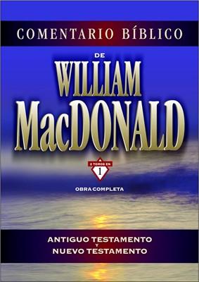 COMENTARIO WILLIAM MACDONALD O COMPLETA (tapa dura) [Libro]