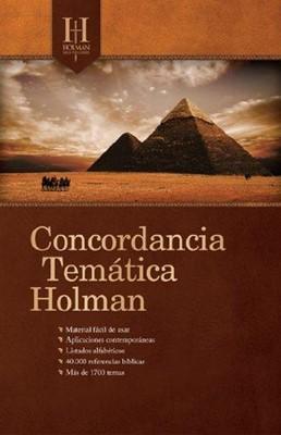 CONCORDANCIA TEMATICA HOLMAN (Tapa Dura) [Libro]