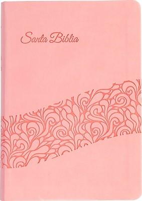 Biblia para Regalos Rosada (Simil piel) [Biblia]