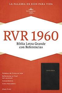 B RVR60 LETRA SUPER G T17 RF NEGRO IMITACION (Simil piel) [Biblia]