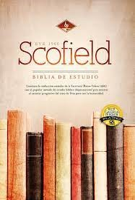 RVR60 Scofield (Imitación Piel - Negra) [Biblia de Estudio]