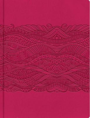 Biblia de Apuntes Fucsia (simil piel) [Biblia]