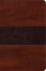 Biblia Peshitta, caoba duotono (simil piel) [Biblias]