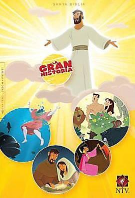 Gran Historia Interactiva NTV (Tapa Dura) [Biblia]