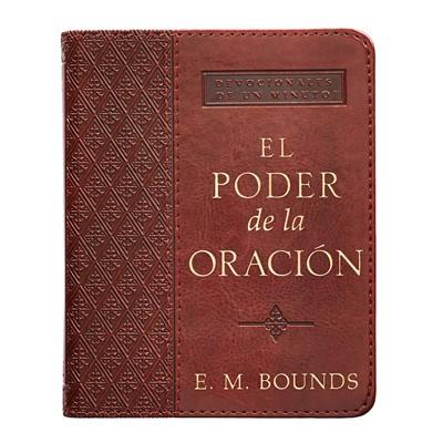 PODER DE LA ORACION DEVOCIONALES 1 M PIEL (tapa acolchada) [Libro]