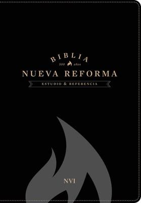 Biblia NVI estudio nueva reforma piel negro (simil piel) [Biblia]