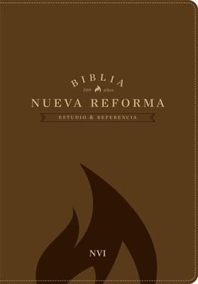Biblia NVI estudio nueva reforma piel miel (simil piel) [Biblia]