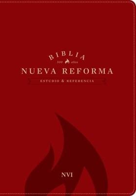 Biblia NVI estudio nueva reforma piel roja (simil piel) [Biblia]