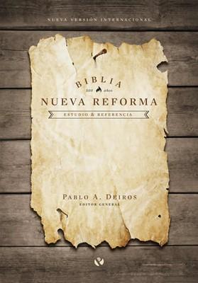 Biblia NVI de Estudio Nueva Reforma Tapa dura (tapa dura ) [Biblia]