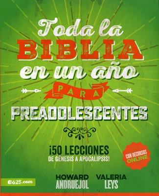 Toda la Biblia en un Año para Preadolescentes (Rústica) [Libro]