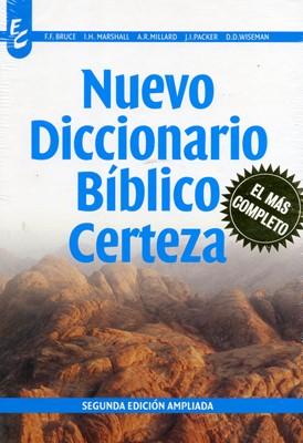 NUEVO DICCIONARIO BIBLICO CERTEZA (Tapa Dura) [Libro]
