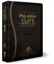 Biblia de Estudio La Palabra Clave (Negro) (Tapa piel especial negro) [Biblia]