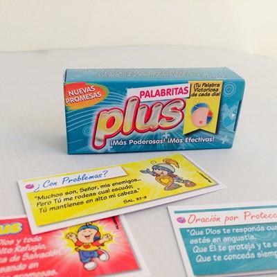 PALABRITAS PLUS X60 (caja de promesas) [Miscelanea]