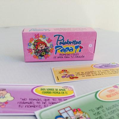 PALABRITAS PARA TI X60 (caja de promesas) [Miscelanea]